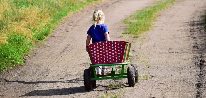 Trækvogn til børn